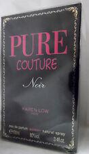 KAREN LOW PURE COUTURE NOIR PARIS 3.4 OZ / 100 ML EAU DE PARFUME NIB WOMEN SPRAY