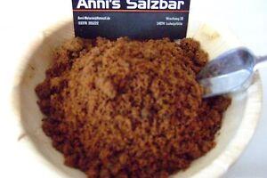 [ab 7,01 €/kg] Dunkler Muscovado Zucker, Mauritius, Vollrohrzucker Annis-Salzbar