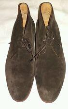 KENZO Pasadena marron en Daim à Lacets Bottines Chaussures Taille UK 6 EU 40
