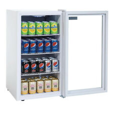 Polar Under Counter Glass Display Fridge 825Hx430Wx480Dmm @Next Day Delivery