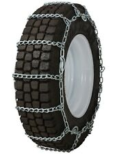 275/75-22.5 275/75R22.5 Tire Chains 7mm Link Cam Snow Traction Commercial Truck