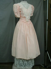 Victorian Dress Women's Edwardian Costume Civil War Reenactment Medium