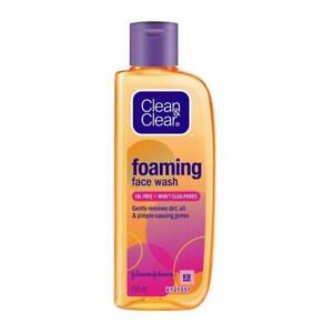 Clean & Clear Foaming Face Wash For Oily Skin 150ml