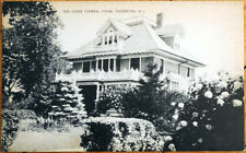 1930s Postcard: Jones Funeral Home - Tuckerton, New Jersey NJ