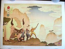 Avatar The Last Airbender Appa Aang Zuko Toph Katara art print poster Nickeloden