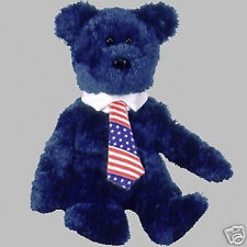 """TY Beanie Baby """"POPS"""" the Father's Day TEDDY BEAR - MWMT Retired"""