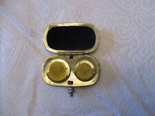 ancien porte louis d'or époque fin 19 ème laiton en forme porte monnaie en TBE