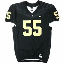 Purdue Boilermakers Nike Men's L Vapor Pro Football Jersey #55 Black $120