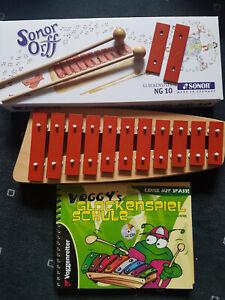 DIMAVERY Kinder-Glockenspiel Metall