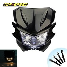 Universal Streetfighter Headlights Head Lamp For KTM Honda Dual Sport Dirt Bike