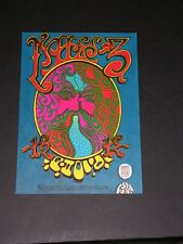 Chuck Berry Family Dog Denver Psychedelic Postcard by Griffin & Moscoso Fd-D12