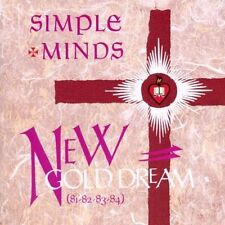 Simple Minds New gold dream (81-82-83-84) [CD]