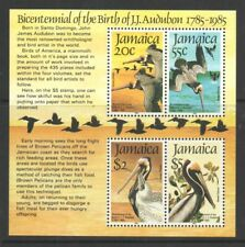 Jamaica Five Mint Souvenir Sheets for Stamp Collection