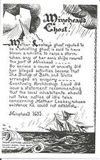 Minehead's Ghost        Unused Postcard        (from Mother Leakey's Candy Shop)