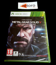 Pal version Microsoft Xbox 360 metal Gear Solid V Ground Zeroes