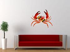 "Baltimore Crab Sport Teams Mashup Fan Art Decor Vinyl Decal Sticker 22""x24"" Wall"
