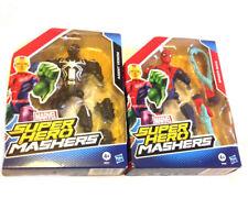 "Marvel Comics HERO MASHERS 6"" SPIDERMAN & AGENT VENOM figure gift set"