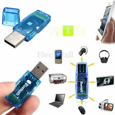Wireless Bluetooth 100m USB 2.0 Dongle Adapter for Computer PC Laptop Cellphone