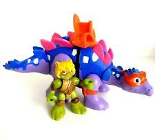 TMNT Teenage Mutant Ninja Turtles Half Shell Heroes Dino Mikey with Stegosaurus