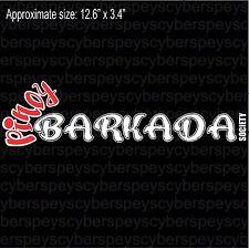 Philippine Pinoy Barkada Society JDM Design Car Vinyl Decals/Stickers