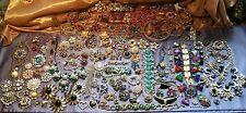 Vintage Broken Rhinestones Jewelry Lot, Art Crafting, Scrap, Repurpose 5 Lbs.