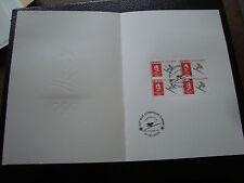 FRANCE -document 1er jour 29/12/1990 (albertville ski de vitesse) (cy48)french(R