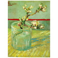 Van Gogh, Blossoming Almond Branch in a Glass Deco FRIDGE MAGNET, 1888 Mini Gift
