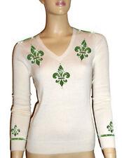 Damen-Pullover & -Strickware aus Kaschmir mit V-Ausschnitt L