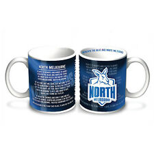 North Melbourne Kangaroos AFL Team Song Coffee Mug/Cup