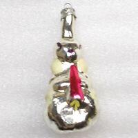 Antiker Russen Alt Christbaumschmuck Glas Weihnachtsschmuck Ornament Hase Rabbit