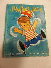 JUMPING JACK Elf Book Diane Sherman Anne Sellers Leaf 1962