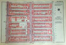 1955 UPPER WEST SIDE 89TH-100TH STREET MANHATTAN NY G.W. BROMLEY ATLAS MAP 12X17