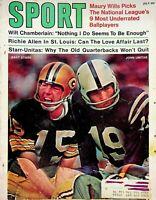 Vintage SPORT Magazine July 1970 Wilt Chamberlin Richie Allen Starr-Unitas m1247