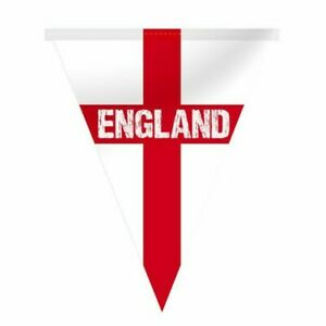England Bunting 5 metres (12 flags) Euro 2020 2021 Football Decoration St George