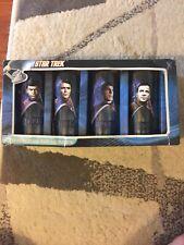 Star Trek Set Of Four 10oz Glasses
