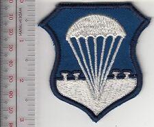 Airborne US Air Force USAF Basic Parachutist Badge mid-50's to 1964 3 x 2.75 inc