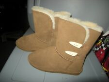 Brand New Womens Hickory II Brown Bearpaw  Abigail 682W Boots, Size 6