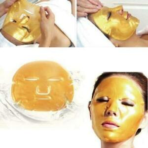 Gold Bio Collagen Crystal Face Mask Skin Anti Ageing Wrinkle Moisturizing Mask