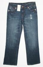 TARGET Brand Dark Blue Stretch Wide Leg Denim Jeans Size 12-M BNWT #TC55