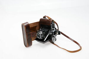 Zeiss Ikon Super Ikonta A 531 Rangefinder Film Camera with Case #517