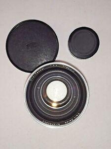 ** CARL ZEISS PRO-TESSAR 1:3.2 f=85mm f/3.2 85mm LENS FOR CONTAFLEX 35MM w/ CAPS