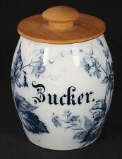 VILLEROY & BOCH METTLACH RUBUS - Keramik Vorratsbehälter ZUCKER - BROMBEERE