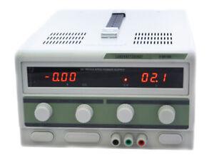 Regelbares DC Labornetzgerät 0-30V 0-20A EDI3020S Labornetzteil Netzgerät 20 A