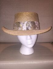 Ladies Straw Hat by GTH Golf & Tennis Headwear Co. Versatile Sturdy Airy Stylish