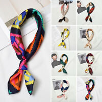 New Womens Stylish Silk Square Scarf Bandana Neckerchief Head Neck Wrap Scarves