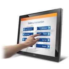 "19"" PCAP Touch Screen Rear Mount Monitor w/ HDMI, DVI, VGA Inputs"