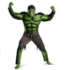 Incredible Hulk Boys Marvel Comics Fancy Dress Kids Superhero Child Costume