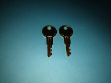 2 Northern Tool & Equipment Toolbox Lock Keys Cut To Your Tool box Key Code