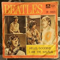 The Beatles – Hello, Goodbye / I Am The Walrus, SWEDEN, R 5655, 1967