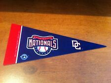 Washington Nationals FELT BASEBALL PENNANT! FREE SHIPPING!